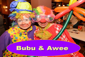 Clowns Bubu and Awee