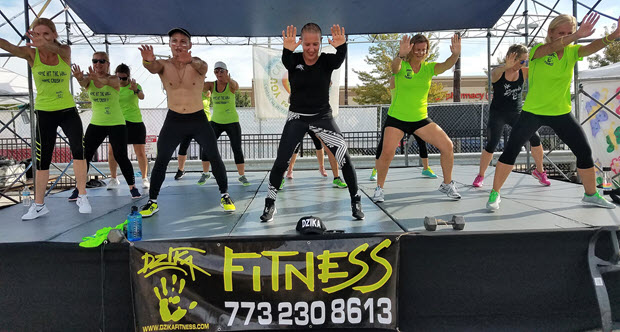 Zumba Workout with Dzika Fitness