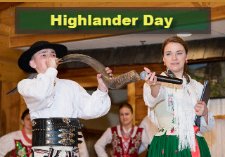 Highlander Day at Taste of Polonia