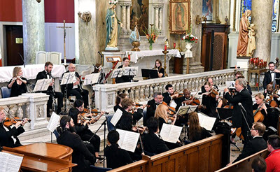 Lincolnwood Chamber Orchestra ~ Old Traditions - New Frontiers