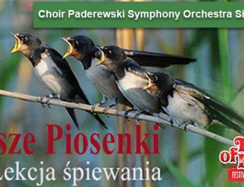 Paderewski Symphony OrchestraSing Along