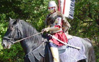 Polish Winged Hussar, Taste of Polonia Festival, Mike Sieczkowski