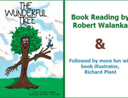 Children's Book Reading  by Robert Walanka