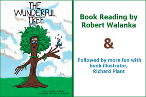 Robert Walanka, children's books, book reading, Richard Plant, The Wunderful Tree, The Insect King, Taste of Polonia, Festival, Chicago, Polish Fest, Copernicus Center