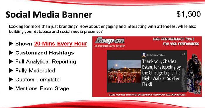 Social Media Banner Jumbotron Chicago