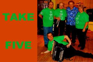 Take Five, Chicago Events, Chicago, Copernicus Center, Jefferson Park, Labor Day, music festival, September Festival, Taste of Polonia Festival, Polish Fest, live bands, dance band, polka band